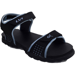 Lovi Blue Nubuck Velcro Sandals