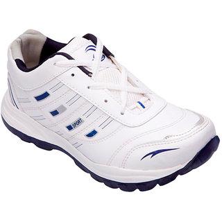 Lovi White Amp Navy Sports Shoes