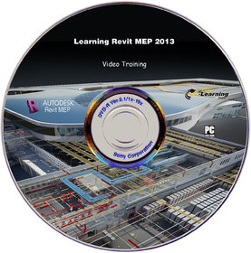 Learning Revit MEP 2013 Video Training DVD
