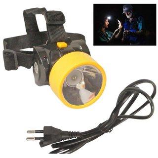Emergency Solar LED Rechargeable ONLITE L729-SS Adventure Head  Torch (multicolour)