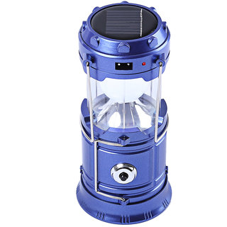 LED Solar Rechargeable 6-9 W Torch Light/ Emergency Lamp (Colors Available)