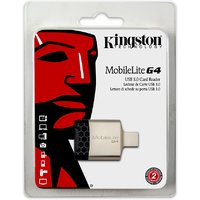 Kingston Mobilelite G4 Usb 3 (Fcr-Mlg4) Card Reader  (B