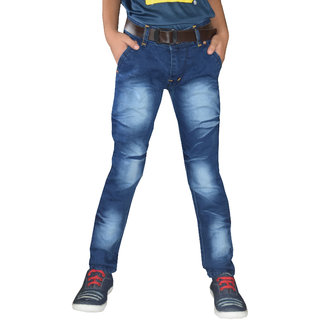 Tara Lifestyle slim fit Denim jeans pant for kids-boys jeans pant - IM12001