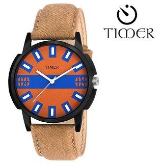 Timer stylish sporty maximus range analog watch for boys and men