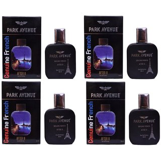Park Avenue after 8 perfume of 50ml For Men Pack of 4