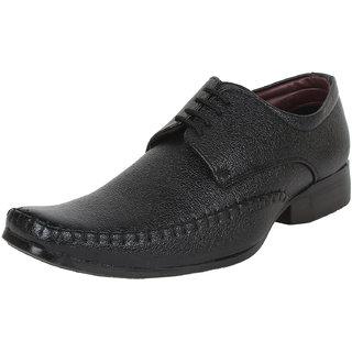 Mansway Mens Black Formal Slip on Shoes