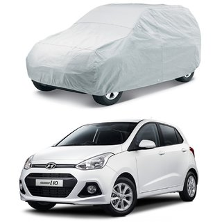 GRAND I-10-DUSPROOF SILVER CAR BODY COVER-HMS