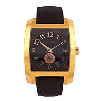 Nina Ricci Rectangle Dial Black Analog Watch For Men- 2