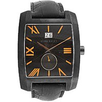 Nina Ricci Square Dial Black Analog Watch For Men- 2324