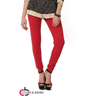 Women's Cotton-Lycra Leggings/Churidars