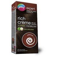 Godrej Expert Rich Creme Hair Colour - Natural Brown 4, Multi Application Pack