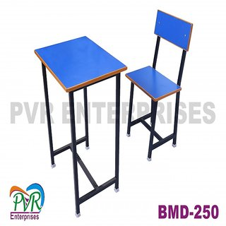 Colorful single chair table