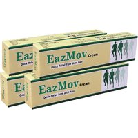 Indian Herbs EazMov Cream For Joint Pain, Arthritic Conditions- Pack Of 4