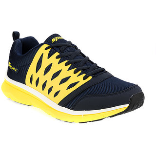 SPARX Men Sports (SM-221 Navy Blue  Yellow)