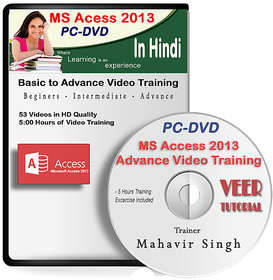 MS Access 2016 Basic to Advance Video Training DVD