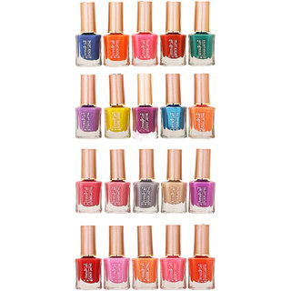 Aroma Care Whole Rate Nail Polish Set Of 20 Pcs Multicolor 11