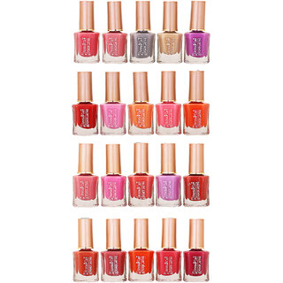 Aroma Care Whole Rate Nail Polish Set Of 20 Pcs Multicolor 18