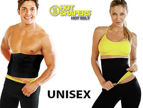 hot shappers Black  Yellow Basic Neoprene Shapewear For Unisex