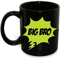 Big Bro Mug; Ceramic Mug; 350ml; Gift For Your Elder Brother; Hot Muggs