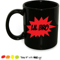 Lil Bro Mug; Ceramic Mug; 350ml; Gift For Your Younger Brother; Hot Muggs