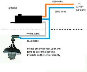 220 volts Automatic Day Night Switch Sensor Dusk Dawn Photo Electric Sensor