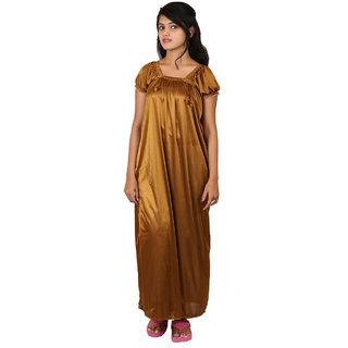 8ebfcf3c0e Buy Sai Shop Women s Sleepwear Gold Nighty Online - Get 43% Off