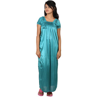 Sai Shop Women's Sleepwear Teal Nighty