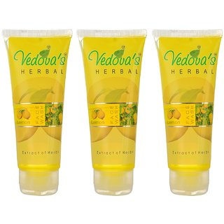 Zone Herbal Lemon Face Wash, Lemon Yellow@YSZ