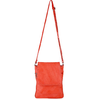 Radhika Peach Pu Sling Bag For Women