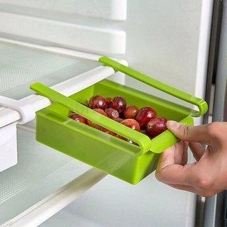 Kudo 2 Pcs Multifuction Kitchen Refrigerator Storage Rack Home Fridge Shelf Tray