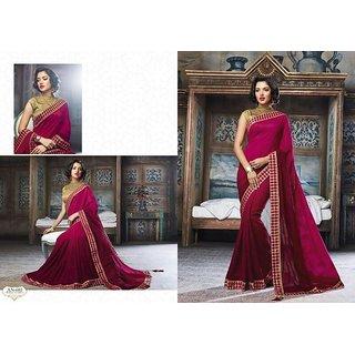 f641fbb70ea89 Buy Roshni fashion Multicolor Corduroy Checks Saree With Blouse ...