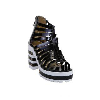 Zappy Women's Black Heels