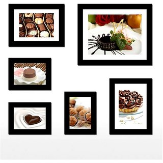Adorable Photo Frame Collage For Home Decor(6 Photo Frames)