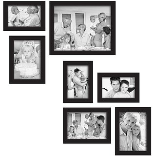 Adorable Photo Frame Collage For Home Decor(7 Photo Frames)