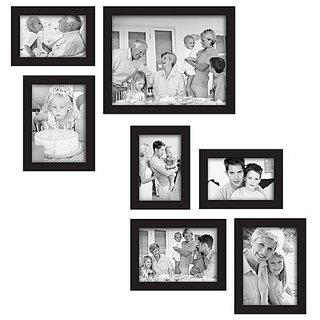 Adorable Photo Frame Collage For Home Decor(7 Photo Frames)