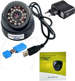 Dome CCTV inBuilt DVR with Memory Card Slot Recording