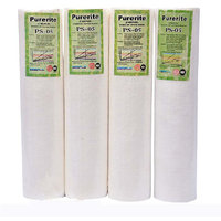 Pack of 4 Pieces of RO Filter Original Kemflo USA 10 Inch Spun Filter Pre-Filter Cartridge