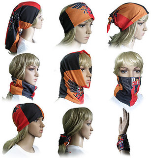 Fashion trnd Multipurpose 9 in 1  Headwrap and Bandana