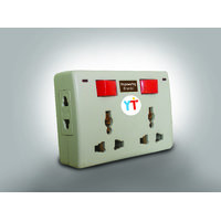 YTI Nice Multiplug 4 Sockets with 2 Switches  Indicators (3 months Warranty)