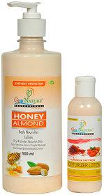 Zone Almond honey lotion Almond saffron lotion@YSZ