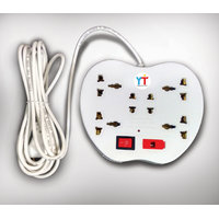 YTI Apple Power Strip 6 Sockets with 1 Switch and Indicator