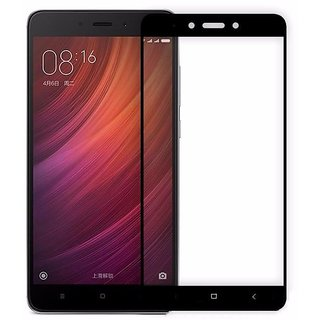 3D Curved Edge-To-Edge Full Screen Coverage Protector Tempered Glass For Redmi Note 3 (Black)
