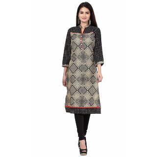 Y D  Fashions Women's Cotton Printed Kurti