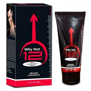 Why Not 12  developer Cream For Men 100gm