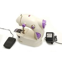 Imported Sewing Machine With Foot Pedal, Double Thread