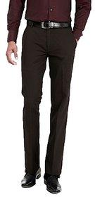 Inspire Coffee Slim Fit Formal Trouser