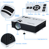 UC40 Mini Home Cinema Projector 800 Lumen USB/AV/SD/HDM