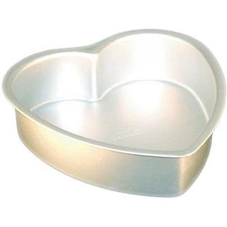 NOOR ALUMINIUM HEART SHAPE CAKE MOULDS - SMALL