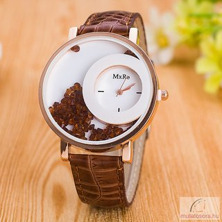 New Desinger Brown Exclusive Crush Diamond Fancy Watch for Girls By Prushti