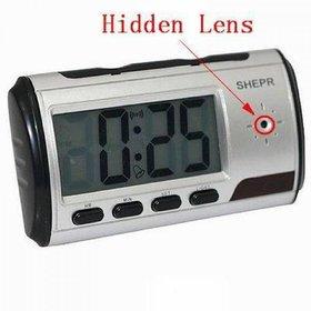 Spy Hidden Digital Table Clock Camera